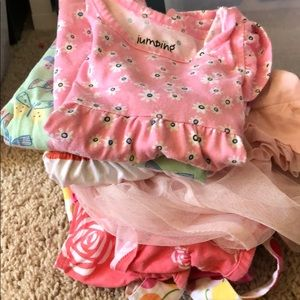 Lot of 12 month old girls clothes.